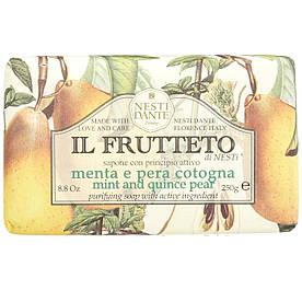 Мыло Nesti Dante Мята и Айва 250г Il Frutteto Mint and Quince Pear