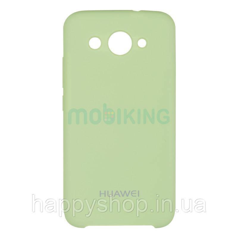 Оригинальный силиконовый чехол Soft touch для Huawei Y3 2017 (CRO-U00) Light Green