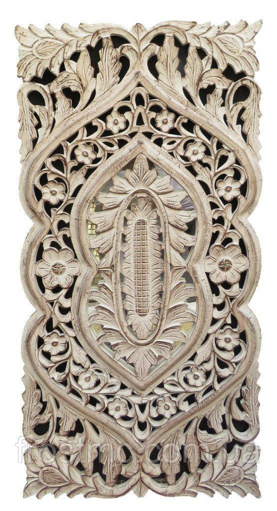 Індійська дерев'яна панель