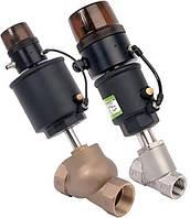 Регулирующий клапан с пневмоприводом и позиционером (ASCO Numatics)