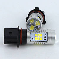 DRL ДХО LED лампы диодные P13W с линзой, фото 1