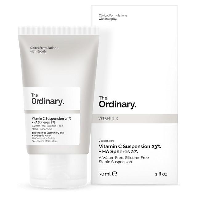 Сыворотка с витамином C и гиалуроновой кислотой The Ordinary - Vitamin C Suspension 23% + HA Spheres 2%, 30 мл