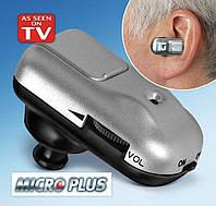 Слуховой аппарат усилитель слуха Micro Plus, фото 1