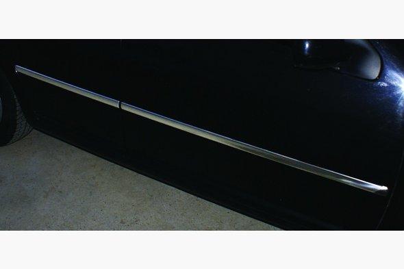 Молдинг дверной (4 шт, нерж) Volkswagen Bora 1998-2004 гг.
