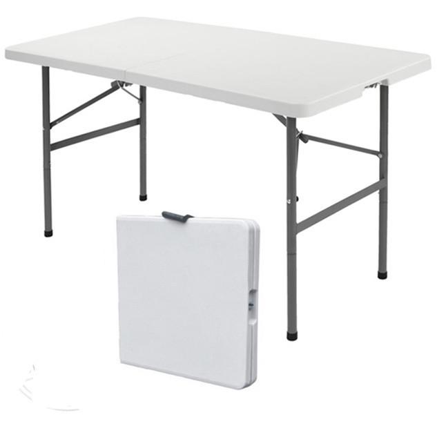 Стол раскладной для кемпинга Rodos XL 122 белый