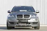 Бампер передний Hamann БМВ Х5 Е70 до рестайлинг, Юбка передняя BMW X5 E70