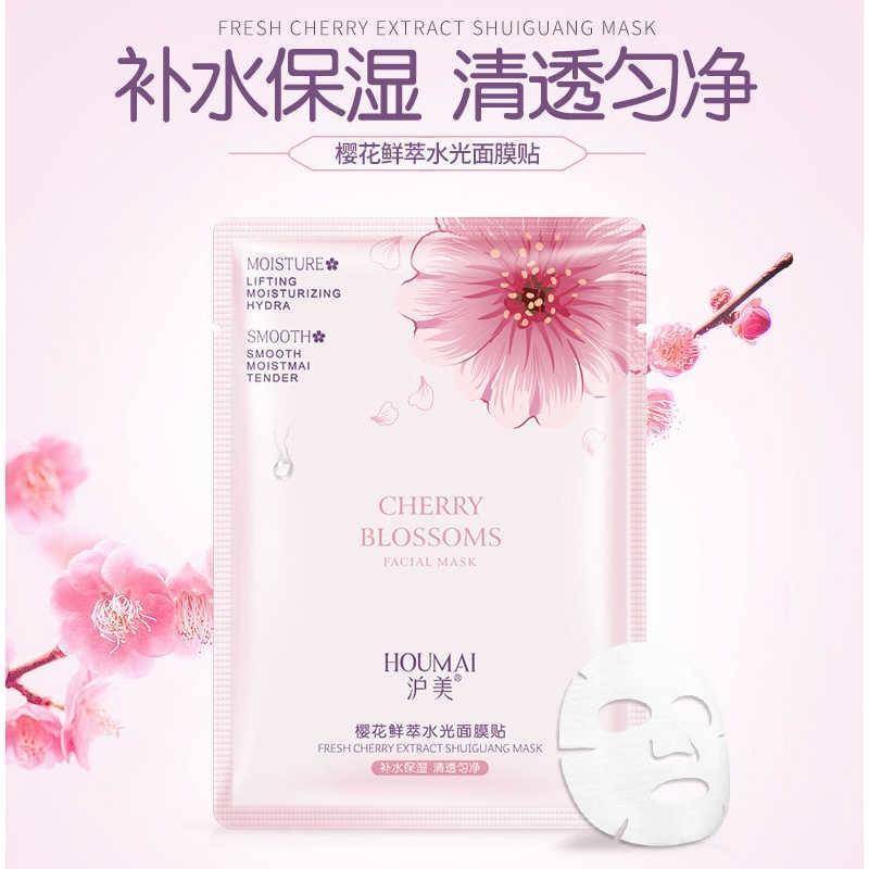 Тканевая маска Houmai Cherry Blossoms Pink