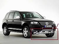 Накладка на передний бампер Volkswagen Touareg 03-06, Губа Туарег