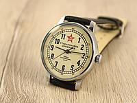 Советские старинные механические мужские часы Ракета, Стахановское движение