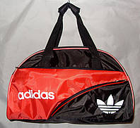 Женская спортивная сумка Adidas 013074 черная с красным 98d3d17aecd18