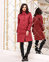 45bfc88d3ba Женское куртка пальто на кнопках воротник стойка демисезонный синтепон  42-44