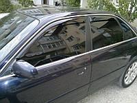Дефлекторы окон Audi 100 C4, Ветровики Ауди 100 Ц4