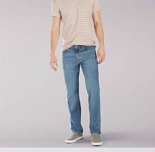 Джинсы Lee Regular Fit Straight Leg Rascal голубые