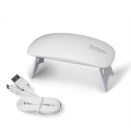 Портативная Гибридная LED лампа для ногтей SUN MINI  6 Вт, складная