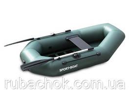 Човен надувний Sport-Boat З 230LS + Насос електричний Турбинка 12V АС 401