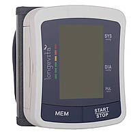 Автоматический измеритель давления Longevita BP-2206 (манжета на запястье), фото 1