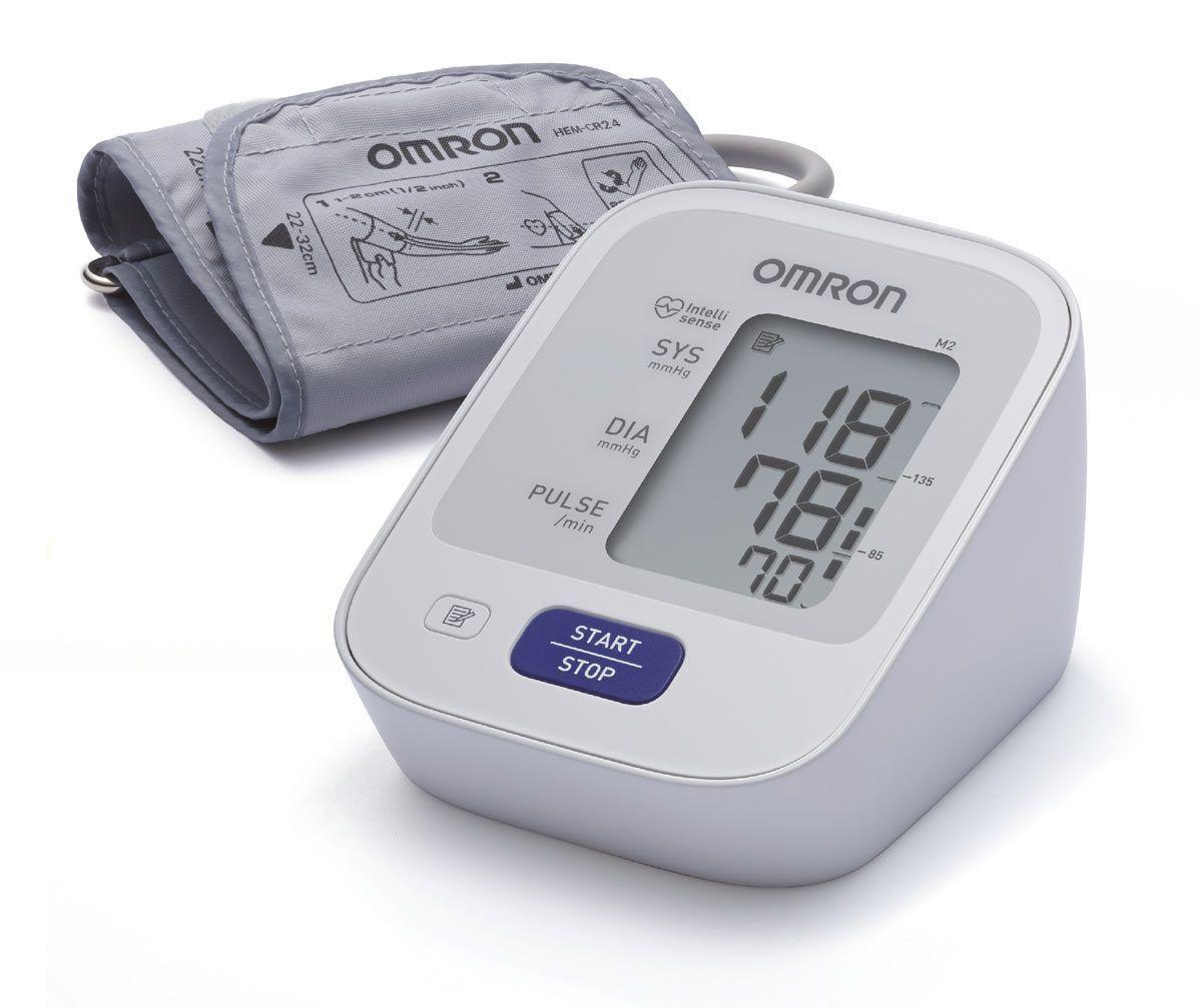 Измеритель артериального давления и частоты пульса автоматический Omron M2 Basic (HEM-7121-ARU)