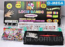Набор резинок для плетения Rainbow Bands Loom 600шт со станком