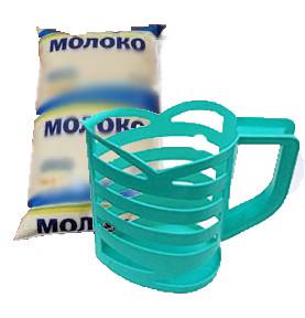 Тримач для пакетів з молоком