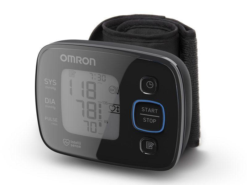 Измеритель артериального давления на запястье Omron MIT Precision 5 (HEM-6150-E)