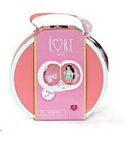 Кейс для кукол LORI DELUXE с аксесуарами (коралловый) LO37008