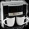 Кофеварка электрическая Domotec капельная на две чашки MS-0708, фото 6