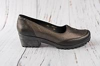 Жіночі туфлі на невисокому каблуку 40 41 42 розміру