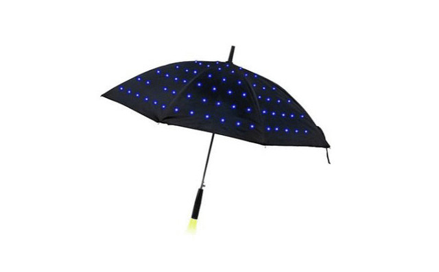 Зонт со светодиодами