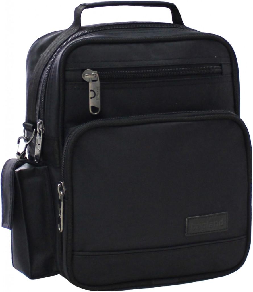 Украина Мужская сумка Bagland Mr.Jack 7 л. Чёрный (0026670)