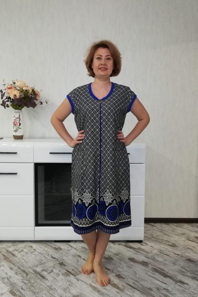 Летний халат женский орнамент