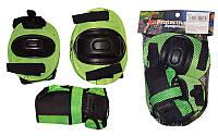 Защита спортивная наколенники, налокот., перчатки ЕТ-1034 (р-р 3-7лет, цвет в ассорт)