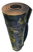 Коврик туристический каремат Хантер с тканевым ремешком його мат 1800 х 550 мм