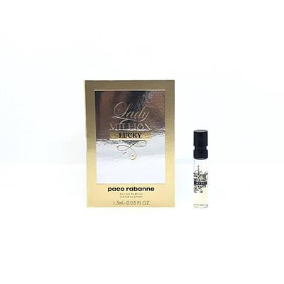 Жіночий ПРОБНИК оригінальних парфумів PACO RABANNE Lady Million Lucky 1,5 мл, квітково-фруктовий аромат