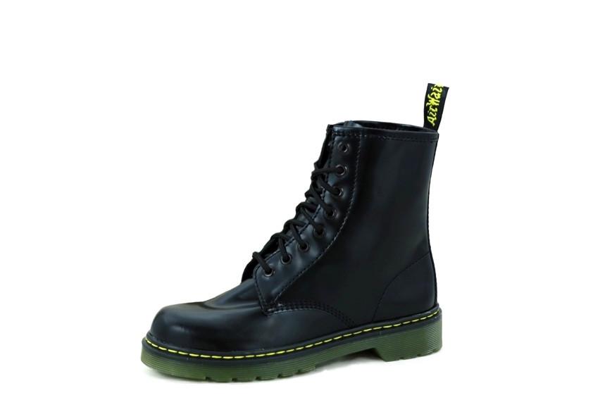 Neuestes Design exquisite handwerkskunst riesige Auswahl an Женские ботинки Dr. Martens (в стиле Martens) черные, кожа, демисезон