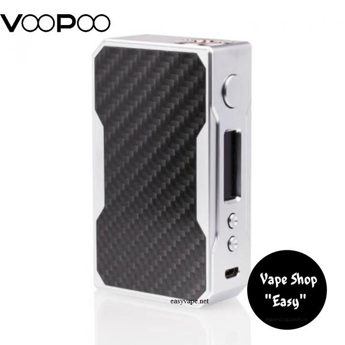 Бокс мод VooPoo Drag 157W MOD Black\Gray Carbon Оригинал.