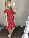 Женское летнее платье в горошек, фото 8