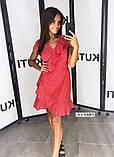 Женское летнее платье в горошек, фото 4
