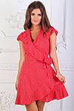 Женское летнее платье в горошек, фото 6