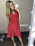 Женское летнее платье в горошек, фото 7