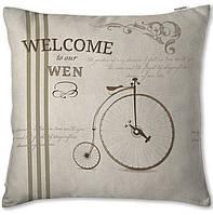 Декоративная подушка  Welcome