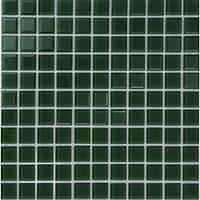 Мозаика одноцветное прозрачное стекло B013