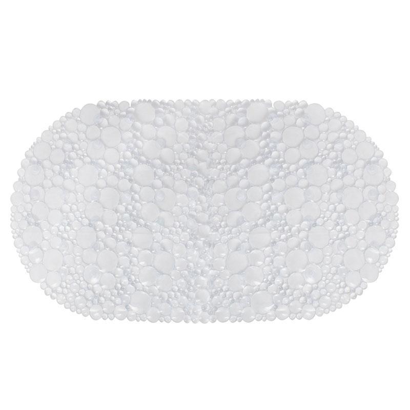 Антиковзаючий килимок для ванної овальний прозорий AWD02091488