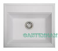 Плита гранітна мийка Solid Гросс білий 60x52, фото 1