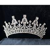 Marry-Elizabeth - Діадема копія улюбленої корони Єлизавети 2ї (6см), фото 9