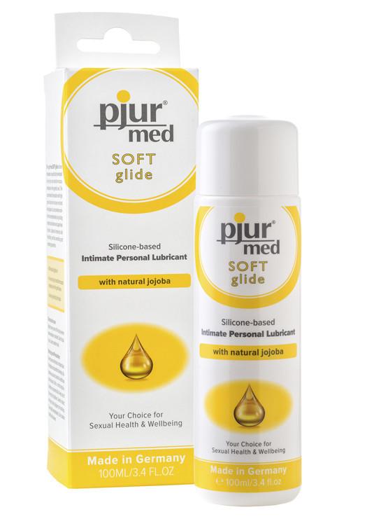 Интимная смазка на силиконовой основе, Pjur Med, Soft glide, 100 мл