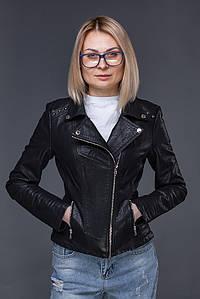 Женская куртка косуха из Экокожи