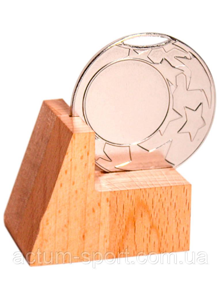 Медаль наградная 45 мм серебро