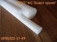 Полиэтилен РЕ-500, стержень, диаметр 30.0 мм, длина 1000 мм.