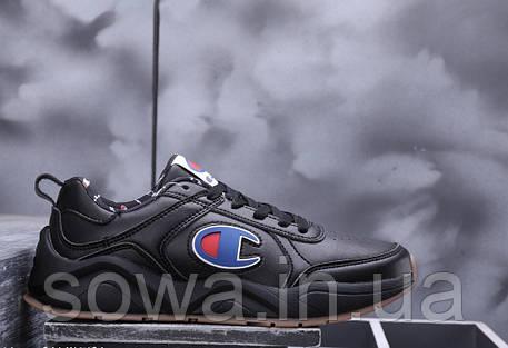 "✔️ Кроссовки CASBIA x Champion AWOL Atlanta ""All Black"" , фото 2"