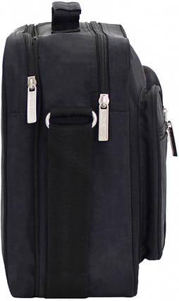 Украина Мужская сумка Bagland Mr.Black 11 л. Чёрный (0026470), фото 2